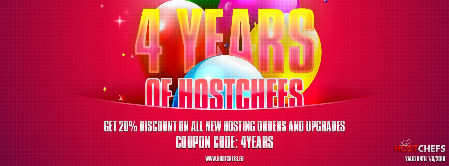 4 Years of HostChefs